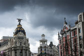 Downtown madrid — Stock Photo