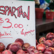 Spartan Apples — Stock Photo