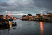 Sunrise Peggy's Cove — Stock Photo