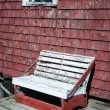 Rickety wooden bench — Stock Photo #37062501