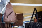 Homemade purse — Stock Photo