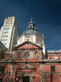 マドリードの教会 — ストック写真