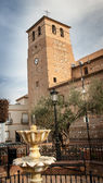 Church tower in Spain — Stock Photo