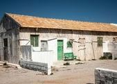 Abandonar el edificio de piedra — Foto de Stock