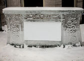 Ice bar — Stock Photo