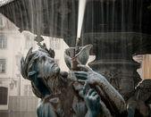 リスボンの噴水 — ストック写真