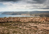 Rocky Coast of Almeria — Stock Photo