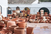 Assorted pottery — Stock Photo