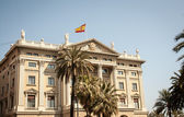 Government Building Barcelona — Photo