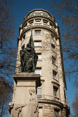 雕像巴塞罗那 — 图库照片