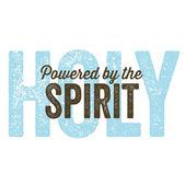 Vintage Christian design – Spirit — Stock Vector
