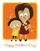 Happy Mother's Day 2 — Stock Vector