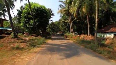 индийская деревня — Стоковое видео