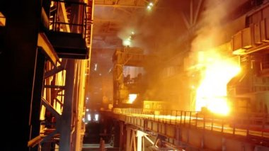 Iron industry — Stockvideo