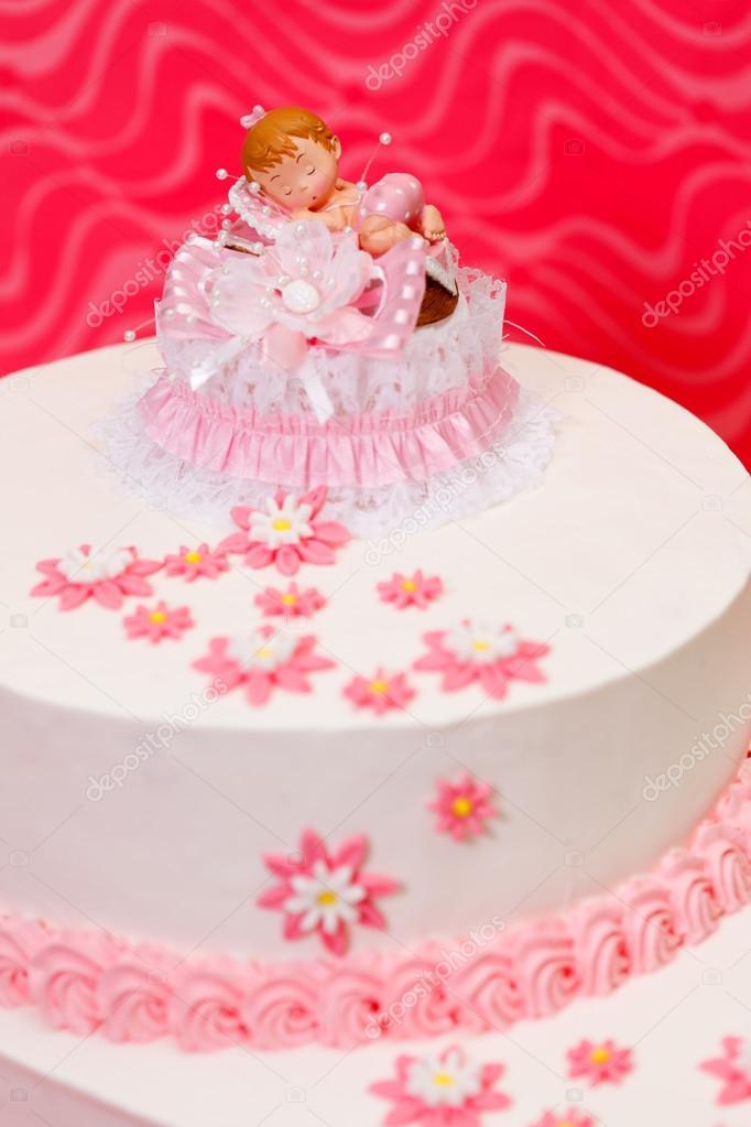 Girl Christening Cakes