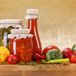 Vegetable preserves — Stock Photo #13828460