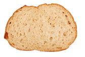 One slice of brown bread — Stock Photo