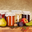 Fruit preserves — Stock Photo