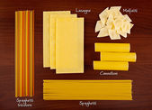 Pasta collection 4. — Stock Photo