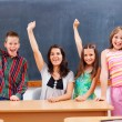 Teacher and pupils in classroom — Stock Photo #41315351
