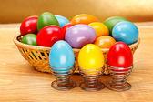 Malovaná velikonoční vajíčka — Stock fotografie