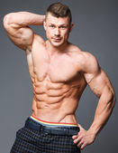 Bodybuilder — Stockfoto