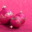 Christmas balls — Stock Photo #40846717