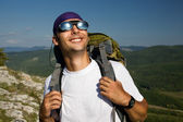 Male tourist — Stock Photo