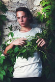 Androgyne boy — Stock Photo