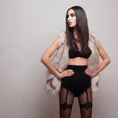 Fashionable model — Stock Photo
