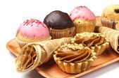 Tortas y pasteles — Foto de Stock