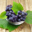 Grapes in a glass cup — Stock Photo #27336423