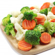 Different frozen vegetables — Stock Photo #27548127