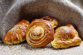 Sweet bread roll — Stock Photo