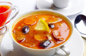 Spicy hodgepodge soup — Foto de Stock