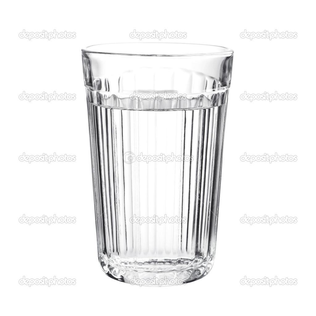Граненый стакан с водой — Стоковое фото © Sasajo #32865193
