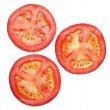Tomato sliced — Stock Photo