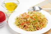 Coleslaw with carrot, onion and apple — Foto de Stock