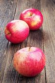 świeże jabłka czerwony — Zdjęcie stockowe