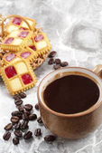 早餐咖啡 — 图库照片