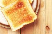 Two toast bread — Stock Photo