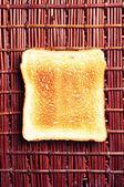 Zapiekana bulka chleba — Zdjęcie stockowe