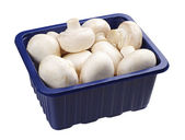 Champignons in a packing — Stock Photo