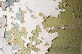 Cracked paint wall — Stock Photo