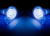 梁的 led 灯 — 图库照片