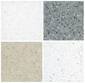 Marble backgrounds set — Stock Photo
