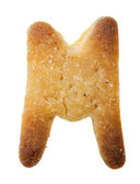 Cookie letter — Stock Photo