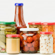 preserved food — Stock Photo