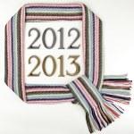 2012 - 2013, New Year — Stock Photo