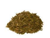 Žlutá čínský čaj, nalil spoustu. — Stock fotografie
